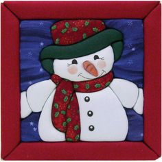 Snowman Quilt Magic Kit at discount prices! Please take a look at our quality selection of Snowman Quilt Magic Kit Snowman Kit, Christmas Snowman, Christmas Holidays, Christmas Crafts, Snowman Door, Christmas Sewing, Sewing Crafts, Sewing Projects, Quilted Wall Hangings