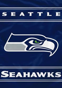 NFL Seattle Seahawks 2 Sided 28 by 40 Inch House Banner for sale online Official Nfl Football, Nfl Football Teams, Nfl Sports, Football Names, Sports Teams, Seahawks Super Bowl, Seahawks Fans, Nfl Seattle, Seattle Seahawks Logo
