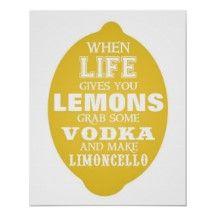 Lemoncello label