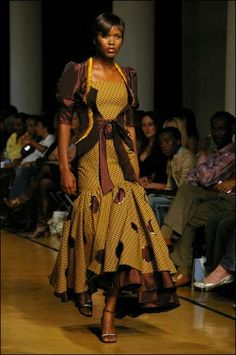 by Bongiwe Walaza African Dresses For Women, African Print Dresses, African Attire, African Wear, African Women, African Prints, African Style, African Inspired Fashion, Africa Fashion