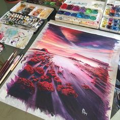Watercolorist: @adempotas