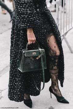 """rubybyann: """"http://www.collagevintage.com/2017/01/street-style-paris-haute-couture-ii/ """""""