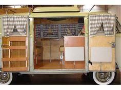 1966 Volkswagen Westfalia Bus.  Had one just like it