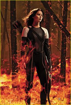 New poster!!!!!!! Luv the Girl on Fire!!!!!!!!!!!!