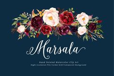Marsala Watercolor Flower Clip Art by Graphic Box on Creative Market. This is a mini pack - Marsala from Tribe flower collection. The main color of this pack is burgundy, it is very perfect for your wedding stationery in rustic, boho chic, vintage style. Pencil Illustration, Graphic Illustration, Creative Illustration, Design Illustrations, Watercolor And Ink, Watercolor Flowers, Watercolor Design, Abstract Watercolor, Texture Web