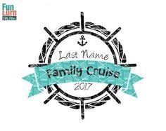 Cruise SVG Family Cruise SVG Blank wheel Anchor
