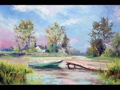 Pour créer de beaux effets dans un paysage, on peut associer pastels et panpastels pour ouvrir de nouvelles possibilités dans la réalisation d'un tableau traditionnel. L'utilisation de panpastel est un apport non négligeable en peinture par la conjugaison...