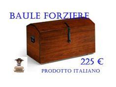Baule forziere in legno consegna sempre gratuita in tutta ITALIA