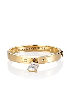 Juicy Couture - Skinny Padlock Bangle