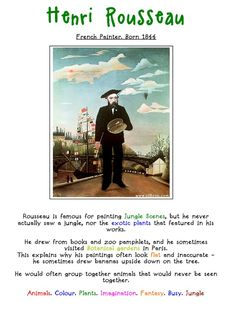 Henri Rousseau. Artist Fact Sheet.