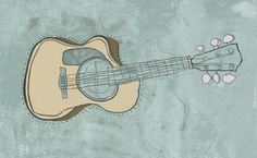 Hello from I LIke Pencils, the portfolio of Graphic Designer and Illustrator Hannah Shembry Cute Art, Like Me, Hand Drawn, How To Draw Hands, Guitar, Pencil, Graphic Design, Illustration, Musica