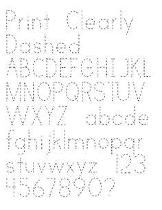 Images of Dotted Line Font - #rock-cafe