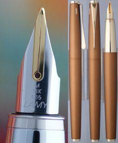 Lamy studio Bronze fountain pen #Lamy, #studio, #Bronze, #fountain pen,
