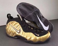 b162a21f45bbe Nike Air Foamposite Pro Metallic Gold 624041-701 For Sale