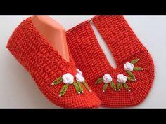 Love Crochet, Learn To Crochet, Beautiful Crochet, Potholder Patterns, Crochet Patterns, Mercerized Cotton Yarn, Step By Step Crochet, Knit Baby Booties, Crochet Mandala