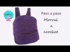 Tutorial morral/mochila a crochet - YouTube