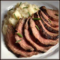Garlic Soy Marinated Grilled Flank Steak