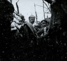 German forces on the Western Front during WWI.