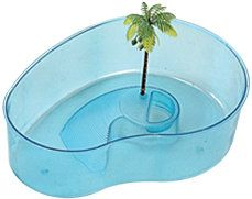 Turtle bowl back in the day when little turtles could be kept as pets.