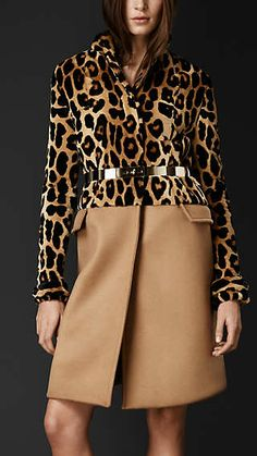 New in: shop the latest women's arrivals including clothing, accessories and shoes from Burberry, inspired by the runway. Animal Print Fashion, Fashion Prints, Animal Prints, Diva Fashion, Couture Fashion, Female Fashion, Leopard Outfits, Leopard Clothes, Burberry