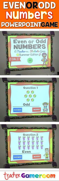 Students count sumertime objects and determine if the group is even or odd.Works on Smartboards and Interactive boards. Perfect for second grade center activities. Second Grade Centers, Second Grade Math, Grade 2, Math Games, Math Activities, Math Math, Guided Math, Interactive Board, Teacher Helper