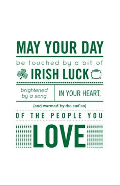 Irish Blessing. May your day... A wonderful way of enjoying the Irish culture is with sterling silver Irish jewelry http://www.handcraftedcollectibles.com/celtic_jewelry.htm