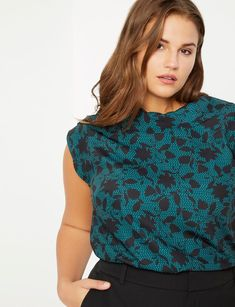 View our Cowl Neck Blouse and shop our selection of designer women's plus size Tops, clothing and fashionable accessories. Plus Size Skirts, Plus Size Jeans, Plus Size Outfits, Plus Size Work, Plus Size Tips, Work Blouse, Cowl Neck, Size Clothing, Blouses For Women