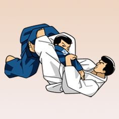 Sankaku-jime (Triangular strangle)