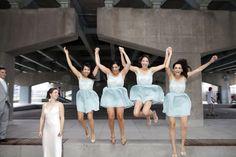 bridesmaids dresses www.happilywedding.com