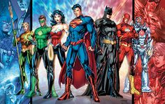 'Justice League' Movie Confirmed, Zack Snyder to Direct! has confirmed that a Justice League movie is in the works, and will be the next superhero movie for the studio after Batman vs. Superman, the Wall Street… Batman Vs Superman, Spiderman, Superman Film, Dc Heroes, Comic Book Heroes, Comic Books Art, Comic Art, Comic Superheroes, Superhero Characters