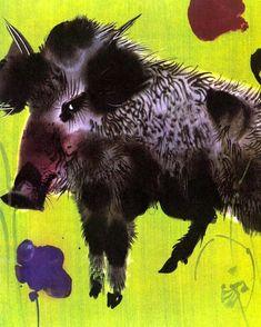 My Animals by Mirko Hanak My Animal, Prague, Moose Art, Pets, Illustration, Animals, Paintings, Artists, Pocket