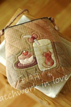 [转载]【魏小懒分享】——《拼布时光》午茶时光斜跨小包教程及图纸
