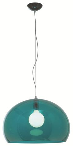FLY Suspension Lamp by Kartell #coloroftheyear #green