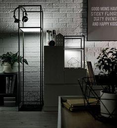 Lampa wysoka Muto (Szary) - Pozostałe - Typy mebli - Meble VOX
