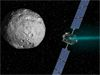 NASA's Dawn spacecraft is on track to become the first probe to orbit and study two distant destinations, to help scientists answer questions about the formation of our solar system.