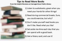 Not sure where to start? We're happy to offer reading suggestions! http://www.dubuque.lib.ia.us/forms.aspx?FID=115