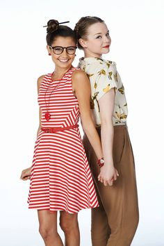 Cristine Prosperi as (Imogen) and Niamh Wilson as (Jack)