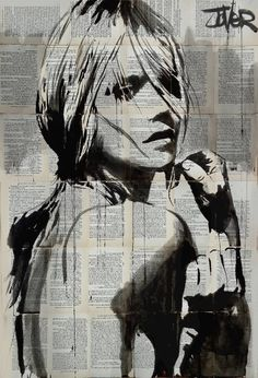 "Saatchi Art Artist LOUI JOVER; Drawing, ""to be"" #art"