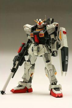 MG RX-178 Gundam Mk-II A.E.U.G. Remodeled by minamp123. Full Photoreview No.22 Big Size Images