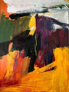 Franz Kline in color. Just what I'm looking for