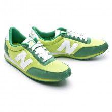 Zapatilla  New Balance 410 Verde-Blanca