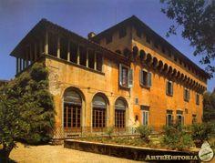 Villa Careggi (Florencia), sirvió de sede a la Academia Neoplatónica de Marsilio Ficino fundada por Lorenzo el Magnífico.
