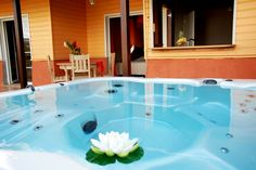 Villa avec jacuzzi privatif