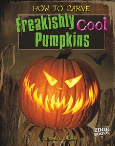 How to Carve Freakishly Cool Pumpkins (Edge Books) Halloween Jack, Halloween Horror, Holidays Halloween, Halloween Pumpkins, Halloween Crafts, Halloween Decorations, Halloween Costumes, Halloween Ideas, Halloween Party