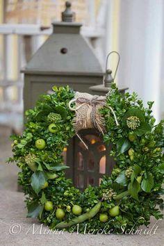 Beautiful green wreath
