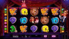 Warst du schon mal im Zirkus? Dann spiele Rabbit in the Hat #Spielautomat von #Microgaming online ohne Anmeldung!
