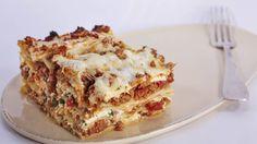 Michael Symon's mom knows her lasagna!