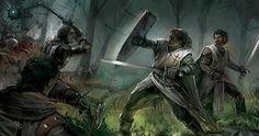 Choose 2 medieval weapons