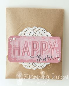 Easter treat bag ide