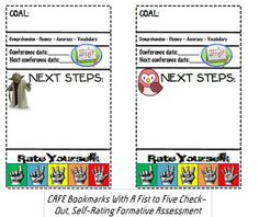 FREE Lookingto help students+track+their+own+CAFE+reading+goals+and+give+them+a+space+to+monitor+those+goals?++Look.+No.+Further. These bookmarks are aimed at motivating students while helping the busy elementary teacher stay organized.